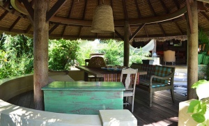 location villa bali round house 9